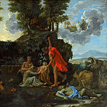 The Birth of Bacchus , Nicolas Poussin