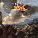 Nicolas Poussin - The Translation of Saint Rita of Cascia