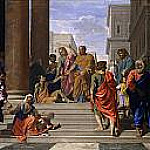 Saints Peter and John Healing the Lame Man, Nicolas Poussin