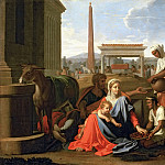 Nicolas Poussin - The Rest on the Flight into Egypt