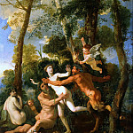 Nicolas Poussin - Pan and Syrinx