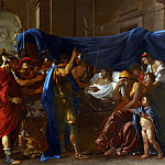 The Death of Germanicus, Nicolas Poussin