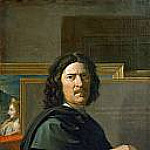 Self Portrait, Nicolas Poussin