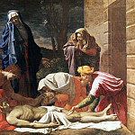 Lamentation over the dead Christ, Nicolas Poussin