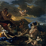Acis and Galatea, Nicolas Poussin