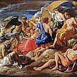 Helios and Phaeton with Saturn and the Four Seasons, Nicolas Poussin