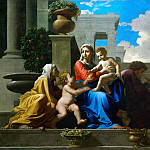 Jean Auguste Dominique Ingres - Holy Family on the Steps