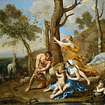 The Feeding of Jupiter, Nicolas Poussin