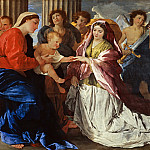 The Mystic Marriage of Saint Catherine, Nicolas Poussin