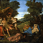 Mars and Venus, Nicolas Poussin