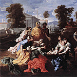 Nicolas Poussin - Finding of Moses