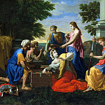 Nicolas Poussin - Achilles and the daughters of Lycomedes