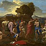 The Baptism of Christ, Nicolas Poussin