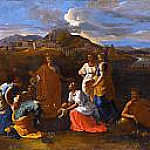 Nicolas Poussin - Moses saved from the flood