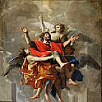 Apotheosis of Saint Paul, Nicolas Poussin