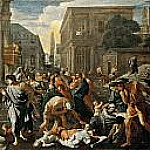 Plague of Ashdod, Nicolas Poussin