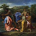 Nicolas Poussin - The Baptism of Christ