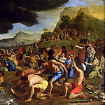 Nicolas Poussin - The Crossing of the Red Sea