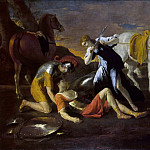 Tancred and Erminia, Nicolas Poussin
