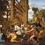 Adoration of the Magi, Nicolas Poussin