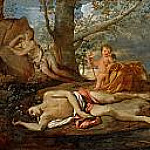 Echo and Narcissus, Nicolas Poussin