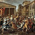 Rape of the Sabine Women, Nicolas Poussin
