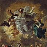 Saint Francis Xavier resurrecting the son of an inhabitant of Cangoxima in Japan, Nicolas Poussin