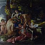 Nicolas Poussin - The Nurture of Bacchus