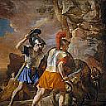 The Companions of Rinaldo, Nicolas Poussin