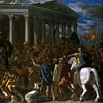 The Destruction of the Temple of Jerusalem, Nicolas Poussin