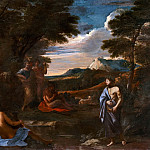 Landscape with Apollo and Marsyas, Nicolas Poussin