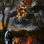 Nicolas Poussin - The Return of the Holy Family to Nazareth