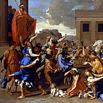 Nicolas Poussin - The Abduction of the Sabine Women