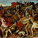 The Victory of Joshua over the Amalekites, Nicolas Poussin
