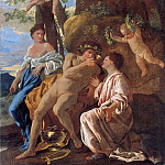 The Inspiration of Anacreon, Nicolas Poussin