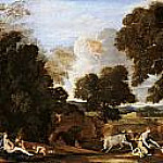 Nicolas Poussin - Landscape with Juno and the slain Argus