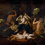 Childhood of Bacchus, Nicolas Poussin