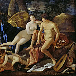 Nicolas Poussin - Venus and Mercury