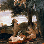 Cupids and genii, Nicolas Poussin