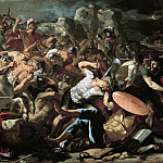 Battle of Joshua against the Amorites, Nicolas Poussin