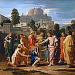 Christ Healing the Blind of Jericho, Nicolas Poussin