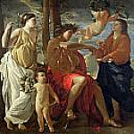 The Inspiration of the Poet, Nicolas Poussin