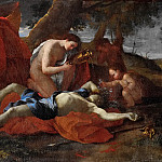 Nicolas Poussin - Venus bemoans the death of Adonis