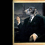 Thierry Poncelet - dog portraits sir isham blovius