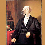 Thierry Poncelet - dog portraits sir rufus wilbraham