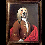 Thierry Poncelet - dog portraits sir algernon buncombe