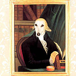Thierry Poncelet - dog portraits sir duncan wilberforce