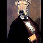 Thierry Poncelet - dog portraits the fifth earl of hearsay