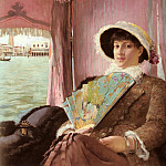 Georg Pauli - Girl In A Gondola