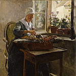Carl Gustaf Pilo - The Lace-Maker